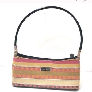 Kate spade authentic minibag stripped pink
